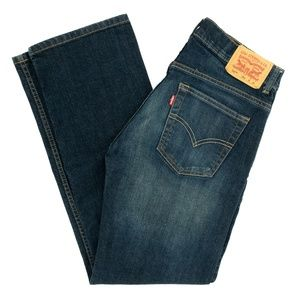 Levi's Strauss 505 Jeans Straight Mid Rise Blue 29